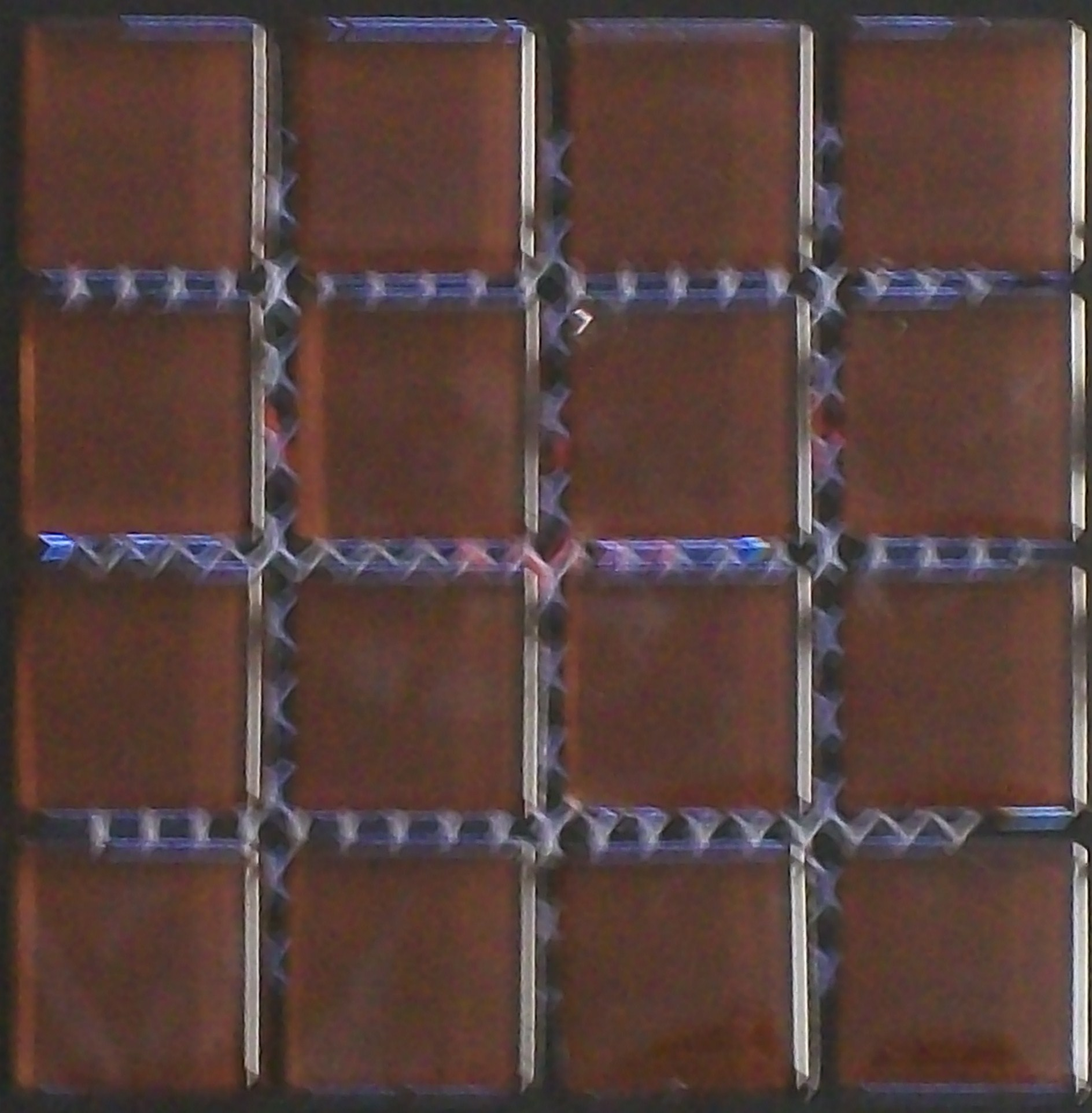 Just ceramic tile the msi series glass tile mosaic brown doublecrazyfo Choice Image